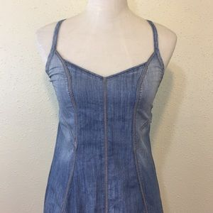 A/X Armani Exchange Light Denim Mini Dress